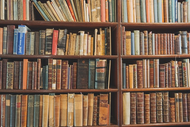 図書館の画像